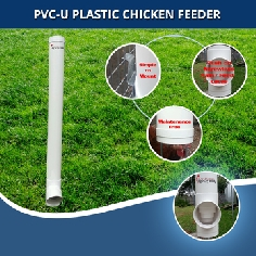 Chicken Gravity Feeder - Holds up to 70% More than other Brands