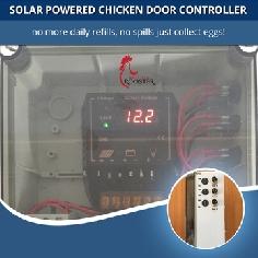 ChickenSentry -Chicken Door Opener Controller - Controls up to 3 Doors