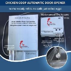 ChickenSentry - Automatic Chicken Coop Door and 3 Door Controller
