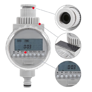 Solar Water Tap Timer 16 Programmable...